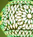 LHM15-GREEN-TD-oosterse hanglamp mozaiek, orientals (3)