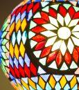 LHM15-MC-TD-oosterse hanglamp mozaiek, orientals