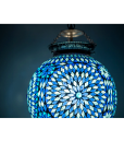 oosterse hanglamp 25 – blue td